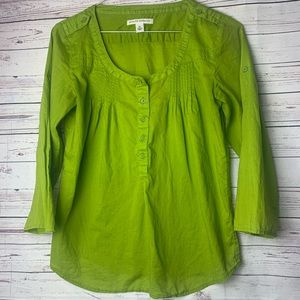 Banana Republic Sheer Boho Top-XS